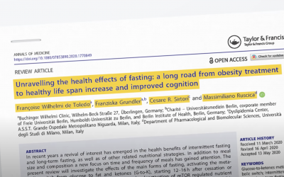 Scientific Review: 100 years of clinical fasting experience and latest research
