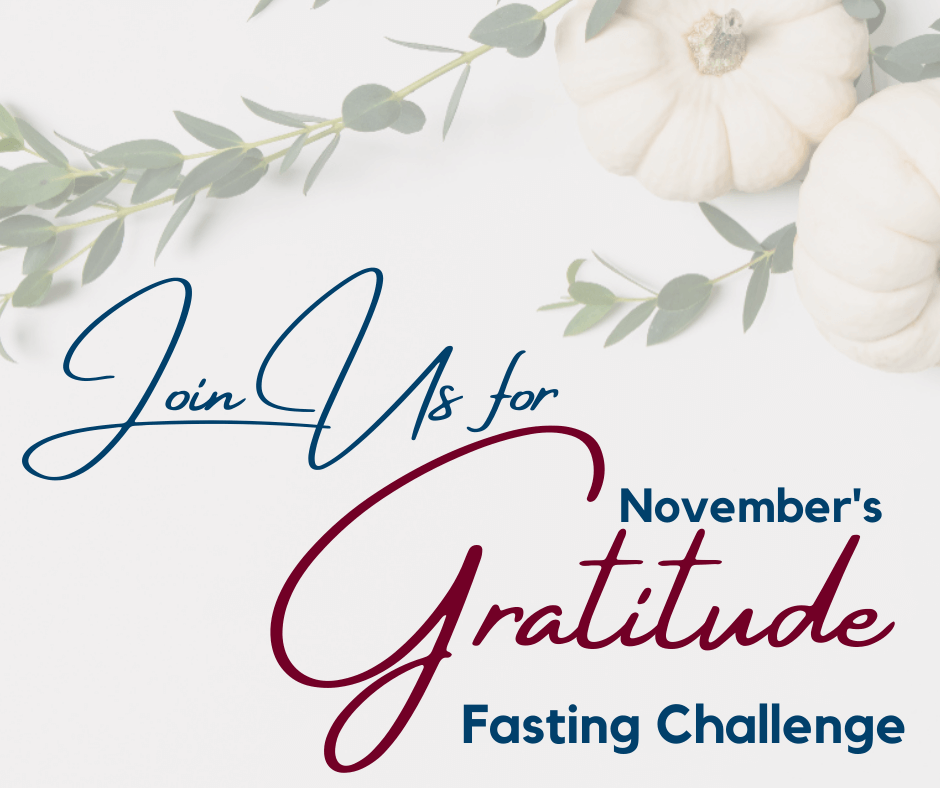 Fasting Gratitude Challenge